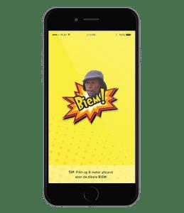 app biem op iphone